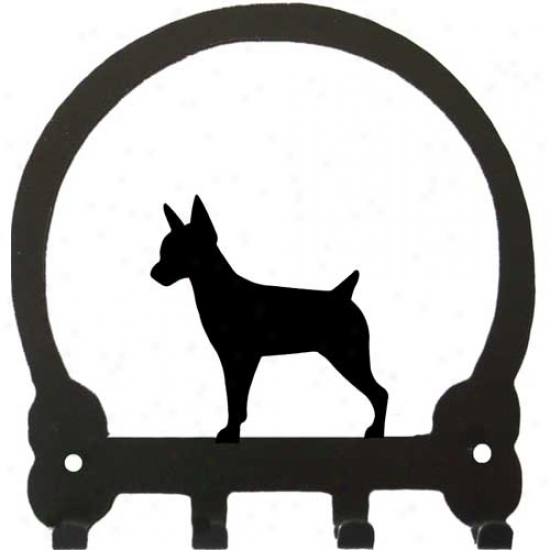 Rat Terrier Key Rack By Sweeney Ridge