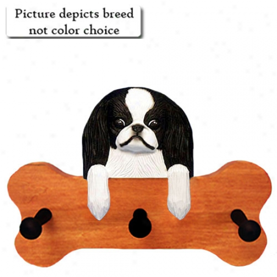 Red And White Japanese Chin Bone Hang Up Ma0le Fiish