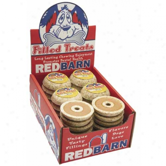 Red Barn Peanut Butter Barn Bagel Filled Rawhide