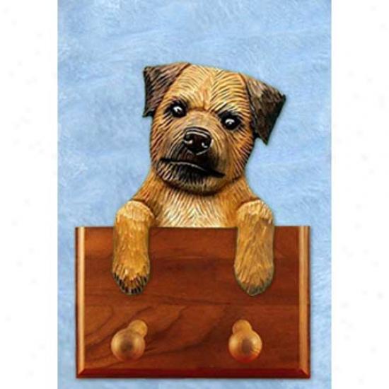 Red Border Terrier Leash Holdeer