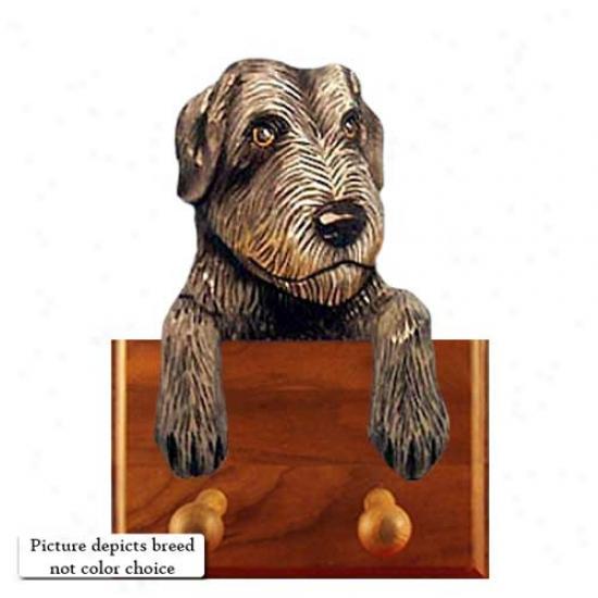 Red Irish Wolfhound Leash Holdet