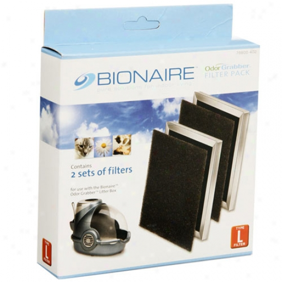 Replacement Filters Bionaire Litter Box By Oster Jarden 2sets