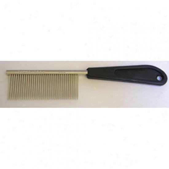 Resco Professional Comb With 600 Fine Tooth Spacing 6.75 Inch