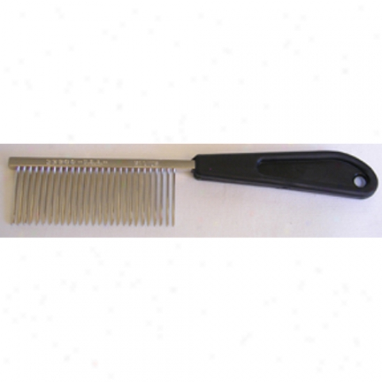 Resco Professional Comb With 600 Medium Tooth Spacing 6.75 Inch