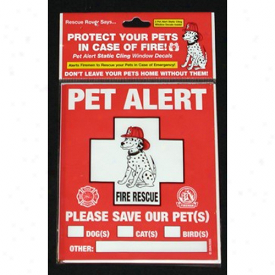 Rescue Rover Pet Alert Decals 2-pack