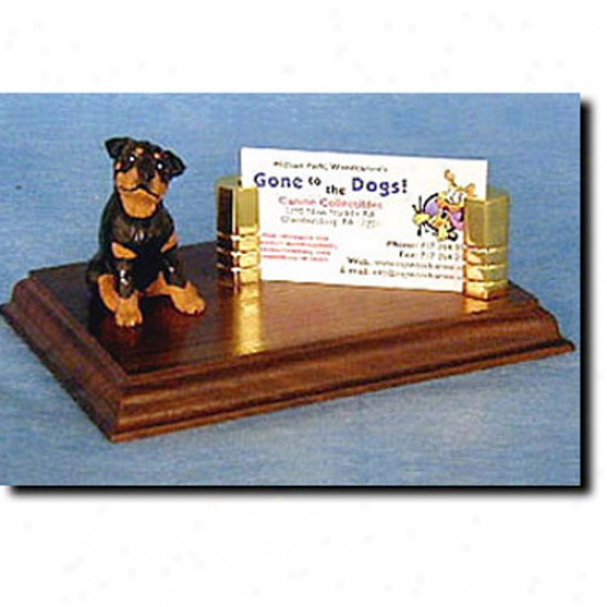 Rottweiler Businezs Card Holder