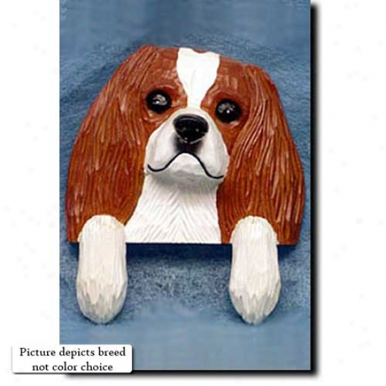 Rubby Cavalier King Charles Spaniel House Topper
