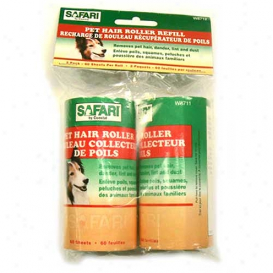 Safari Pet Hair Roller Refill 2pk