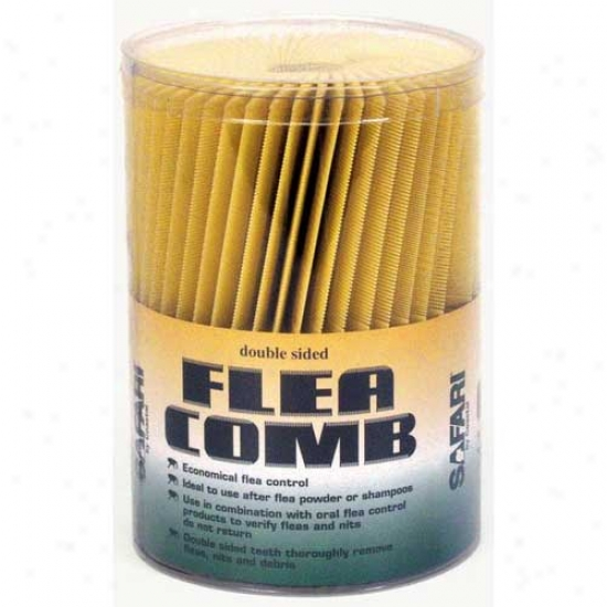 Safari Plastic Flea Combs 100 Pieces