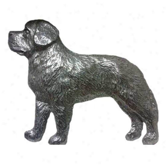 Saint Bernard Pewter Pin