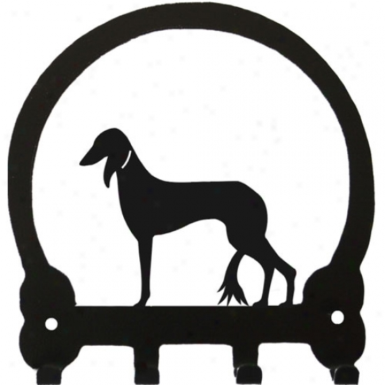 Saluki Key Rack By Sweeney Ridge