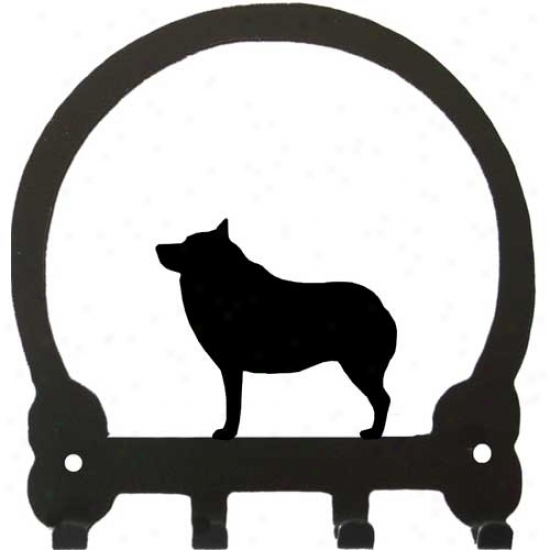 Schipperke Key Rack By Sweeney Ridge