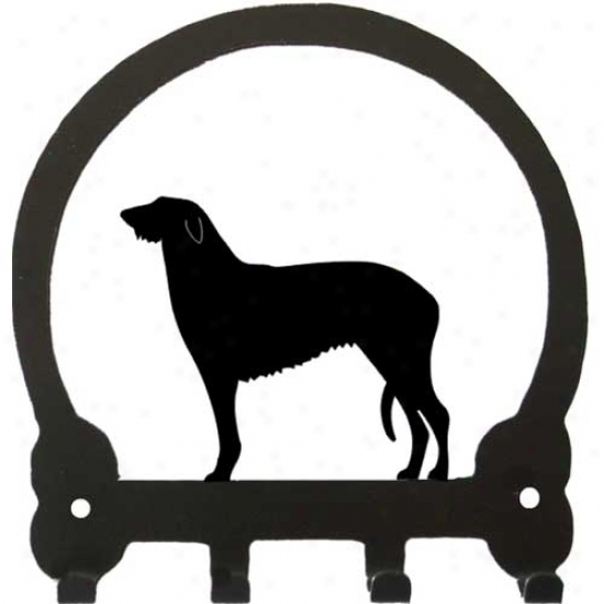 Scottish Deerhound Key Rack By Sweeney Ridge