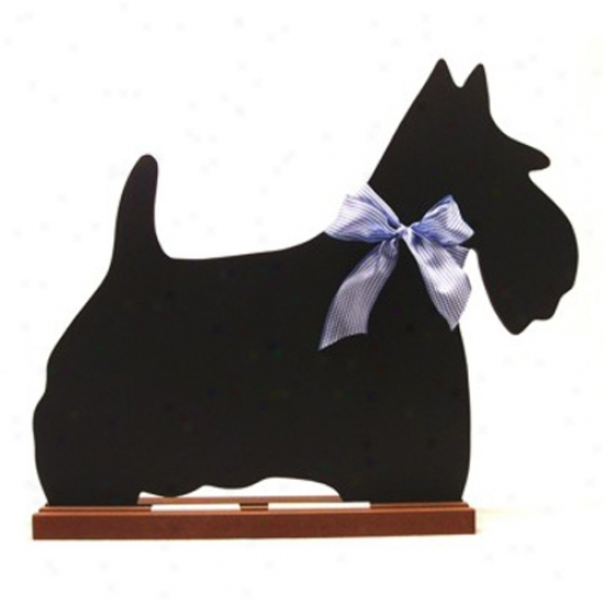 Scottish Terrier Blackboard - Wall Model