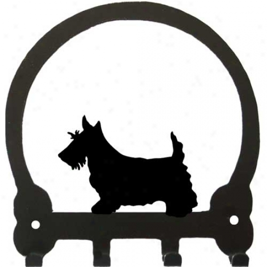 Scottish Terrier Key Neck  By Sweeney Extended elevation