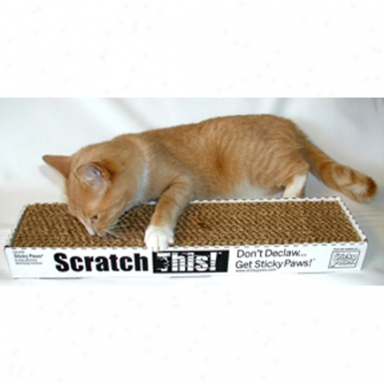 Scratch This! Cardboard Cat Scratcher (5 X 19)