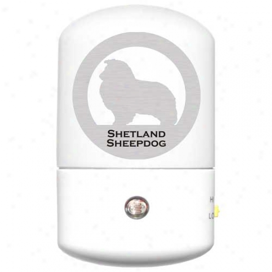 Shetland Sheepdog Led Night Light