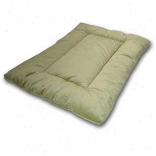 "Sleep-ezz Plush Extra Smqll Reversible Bed (19"" X 13"") Sage"