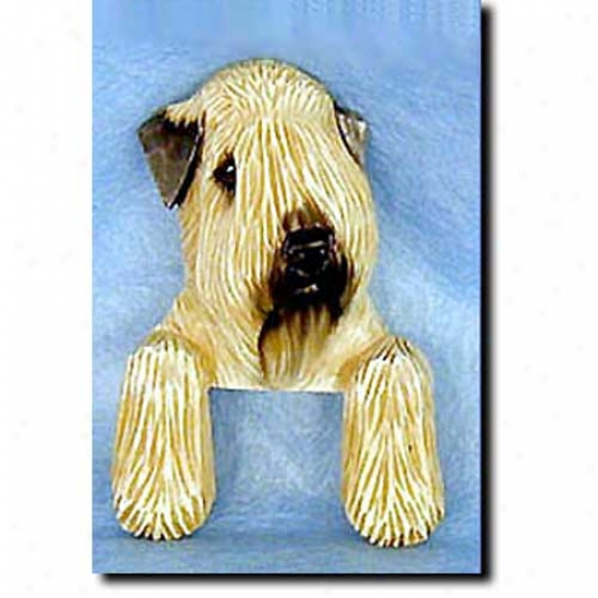 Soft Coated Wheaten Terrier Door Topper