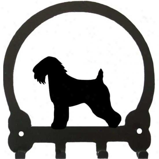 Soft Coated Wheaten Terrier Key Rack By Sweeney Riege