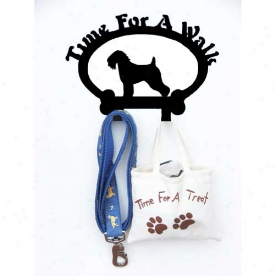 Soft-coated Wheaten Terrier Leash Holder