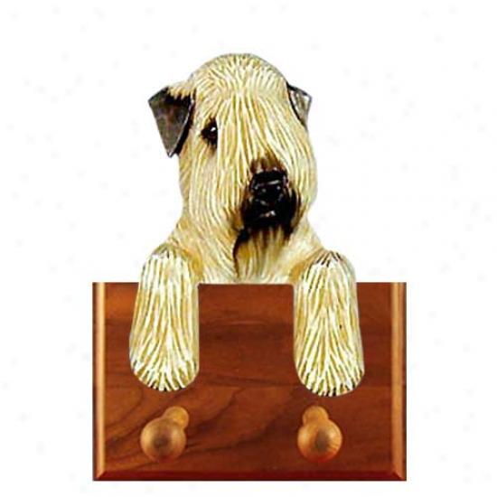 Soft Coated Wheaten Terrier Leash Holder