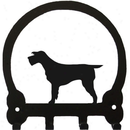 Spinone Italiano Key Rack By Sweeney Ridge