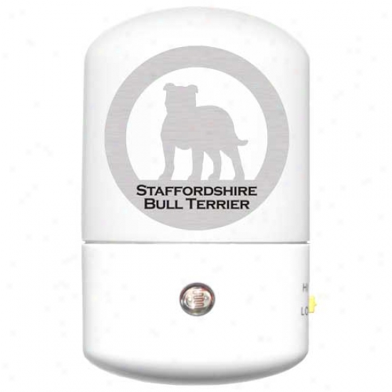 Staffoordshire Bull Terrrier Led Night Light