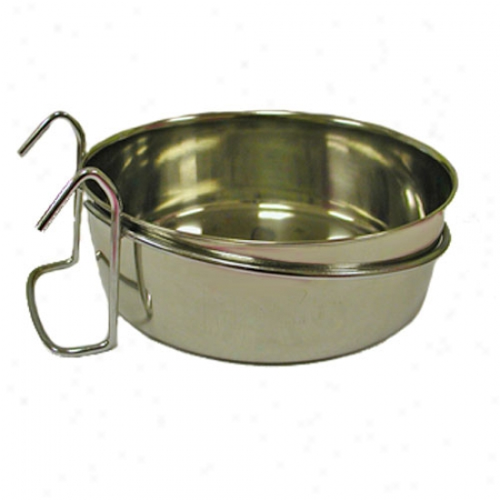 Stainless Steel Coop Cup Withh Telegraph Hanger 10oz
