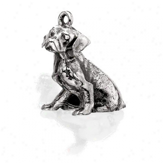 Sterling Silver Dalmatian Charm