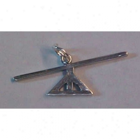 Sterling Silver Teeter Totter Charm