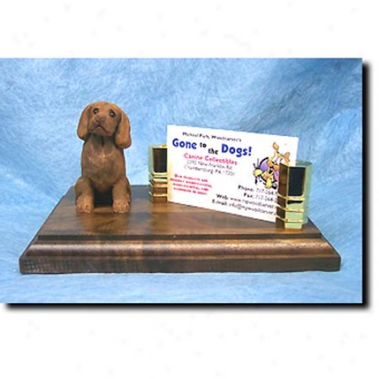 Sussex Spaniel Business Card Holder
