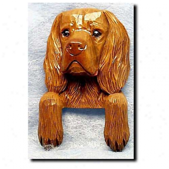 Sussex Spaniel Door Topper