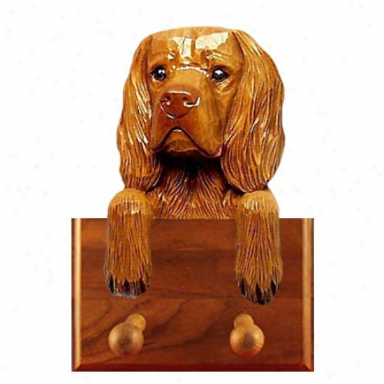 Sussex Spaniel Leash Holder