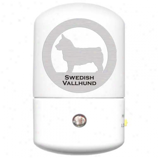 Swedish Vallhund Led Night Light