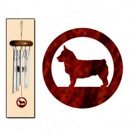 Swedish Vallhund Wind Chimes X-small Gentle