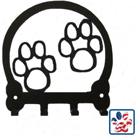 Sweeney Extended elevation Paws Key Rack