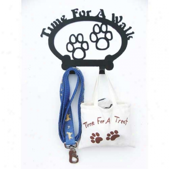 Sweeneyy Ridge Time For A Walk Paws Leash Holder