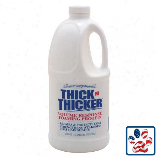 Thick-n-thicker Volume Response Foaming Protein 64oz By Chris Christensen