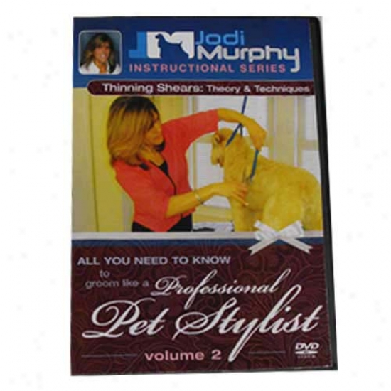 Thinning Shears Theory And Techniques Dvd By Jodi Murphy