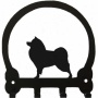 American Eskimo Dog Key Rack By Sweeney Ridge