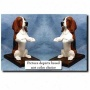 Baswet Hound Bookends Red And White