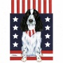 Cocker Spaniel (american) Patriotic Breed Garden Flag
