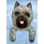 Grey Cairn Terrier Door Topper