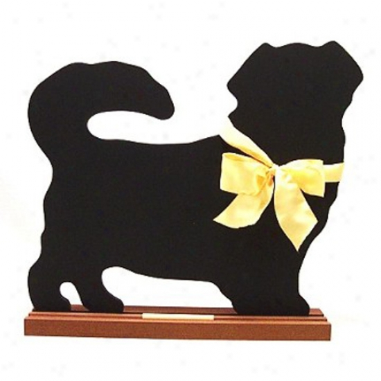 Tibetan Spaniel Blackboard - Wall Model