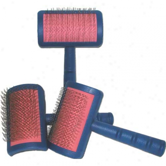 Transgroom Tuffer Than Tangles Slicker Brush With Long, Firm Pins