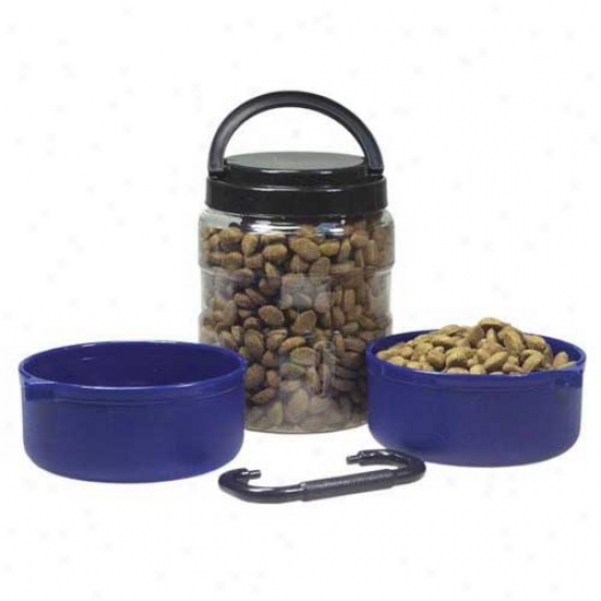 Travel-tainer Pet Feeding System 3quart