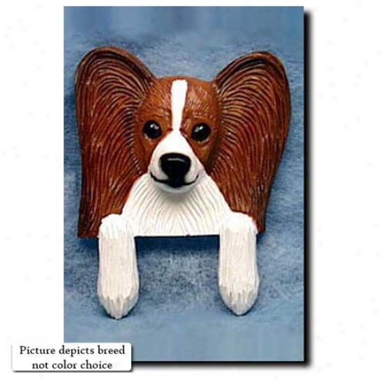 Tri Papillon Door Topper