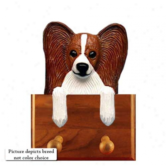 Tri Papillon Leash Holder