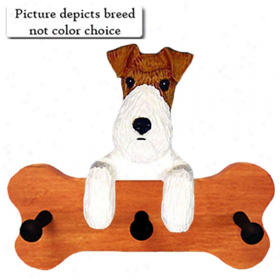 Tri Wire Fox Terrier Bone Drape Up Maple Finish